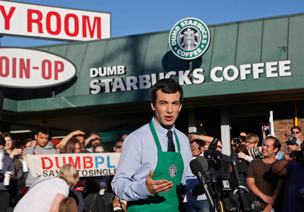 Dumb Starbucks explained on Comedy Central show