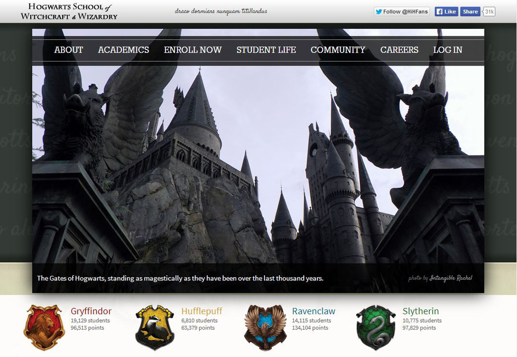 Harry Potter fans open online Hogwarts school