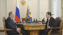 Russia's PM says government has funds to honor social spending pledges