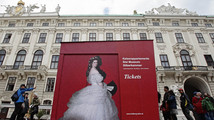 Empress Sisi's wardrobe goes on display in Vienna