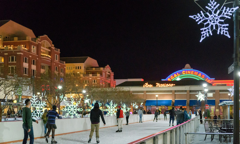 There is still time to lace up your skates for fun at Atlantic Station.