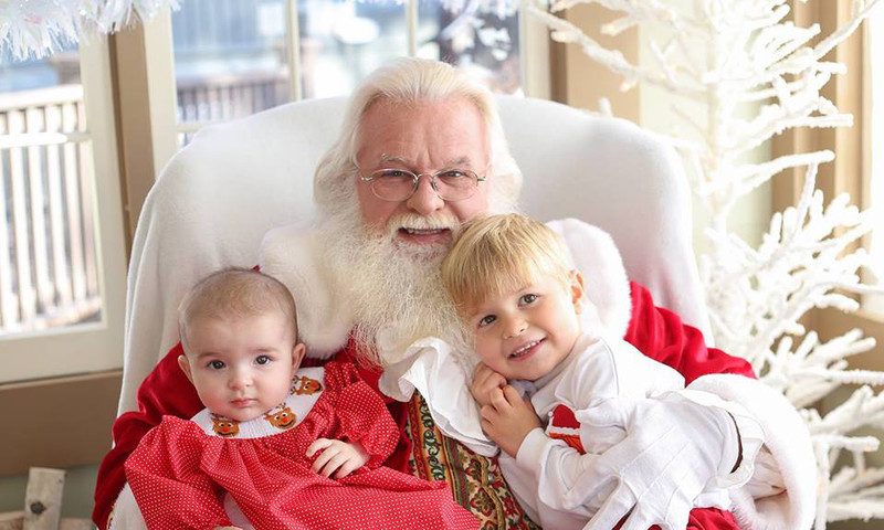 Children of all ages will enjoy a meet and greet with Santa at Milton's Cuisine & Cocktails.