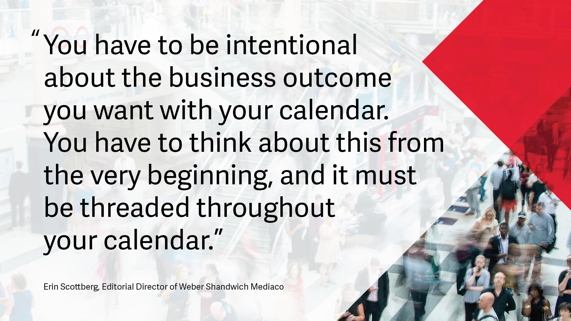 Erin Scottberg Editorial Calendar Quote