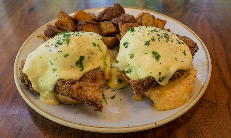The Southern Benedict fills the bill (and your tummy) at TAP Gastropub.