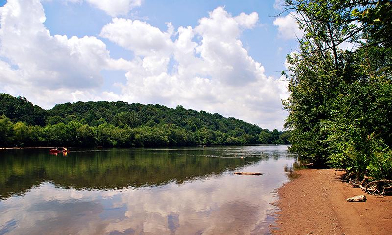 Take a canoe trip down the Chattahoochee.  (Joleen Pete)