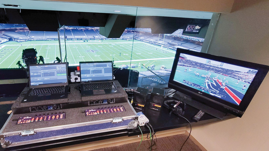 With Venues Largely Fanless, Sports Audio Evolves