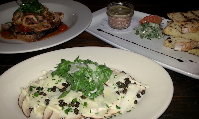Calamari and lasagna get extra special treatment at Campagnolo in Midtown.