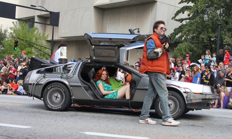 You'll enjoy the Dragon Con parade no matter where (or when) you're from.