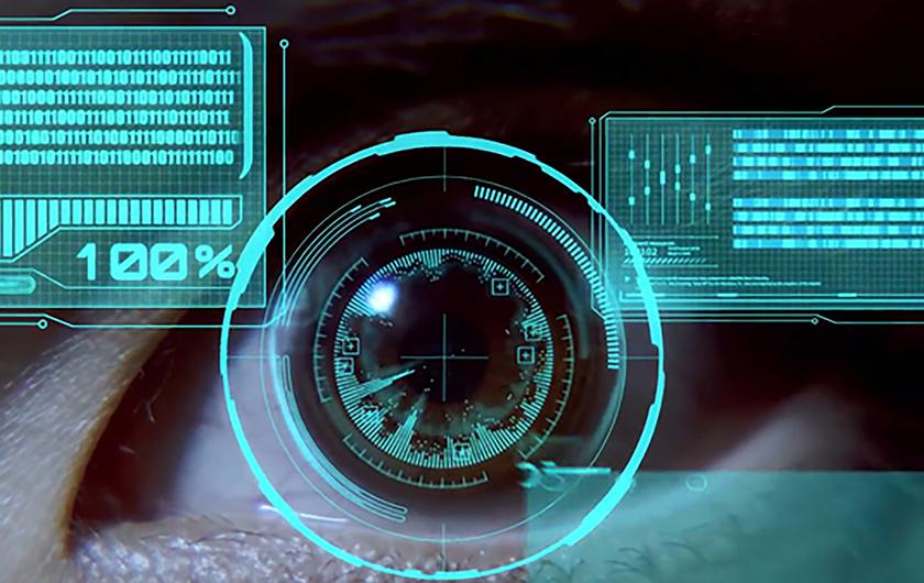 メインビジュアル : 画面を見るだけでロック解除!新しいセキュリティ技術「虹彩認証」とは?