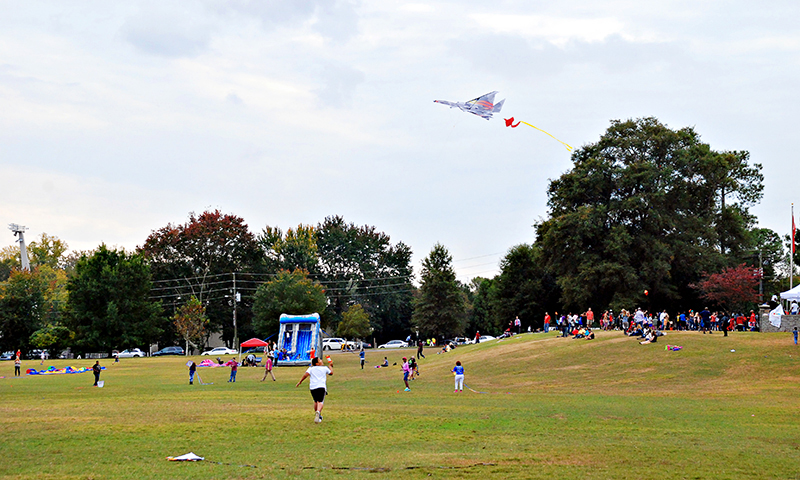 Enjoy a day at Piedmont Park during the annual World Kite Festival. (Joleen Pete)