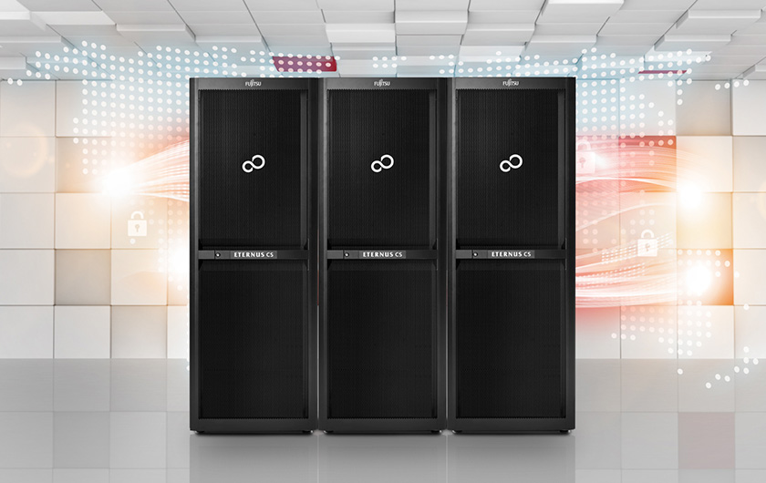 Main visual : Twenty Years of Data Protection with Fujitsu ETERNUS CS8000