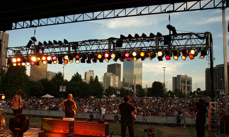 Rock out in sunny days and scenic nights at any music festival in Atlanta.