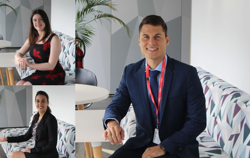 Main visual : Start your career with Fujitsu – hear from our current Graduates