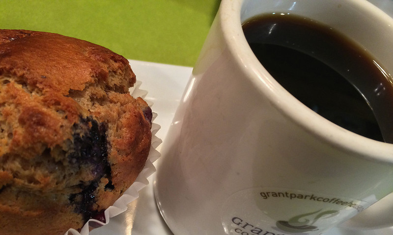 A stone's throw from Zoo Atlanta, Grant Park Coffeehouse offers organic and Fair Trade coffee.