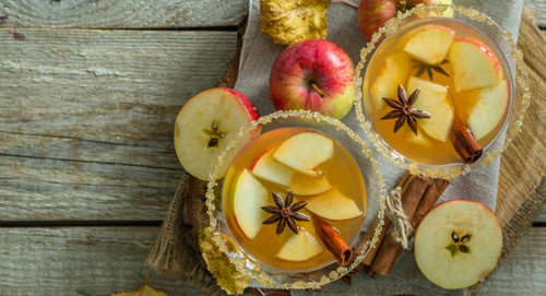 Boozy Cider Slushies Are the Best Thing That's Ever Happened to Fall