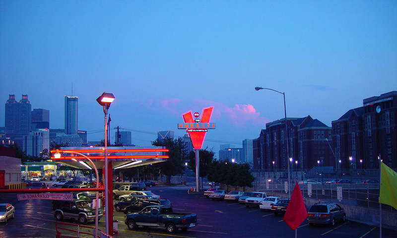 Everybody loves The Varsity, an Atlanta must-do.