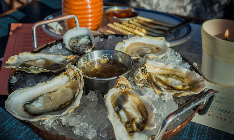 Stop by BeetleCat for oyster happy hour weekdays from 4 to 6 p.m.