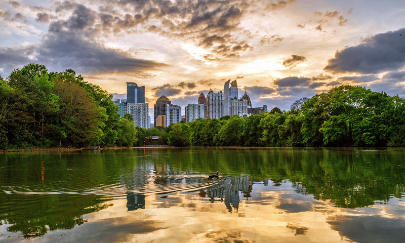 Cool off with our guide to things to do in Atlanta when it's hot, hot, hot. (📷 Gene Phillips, AtlantaPhotos.com)