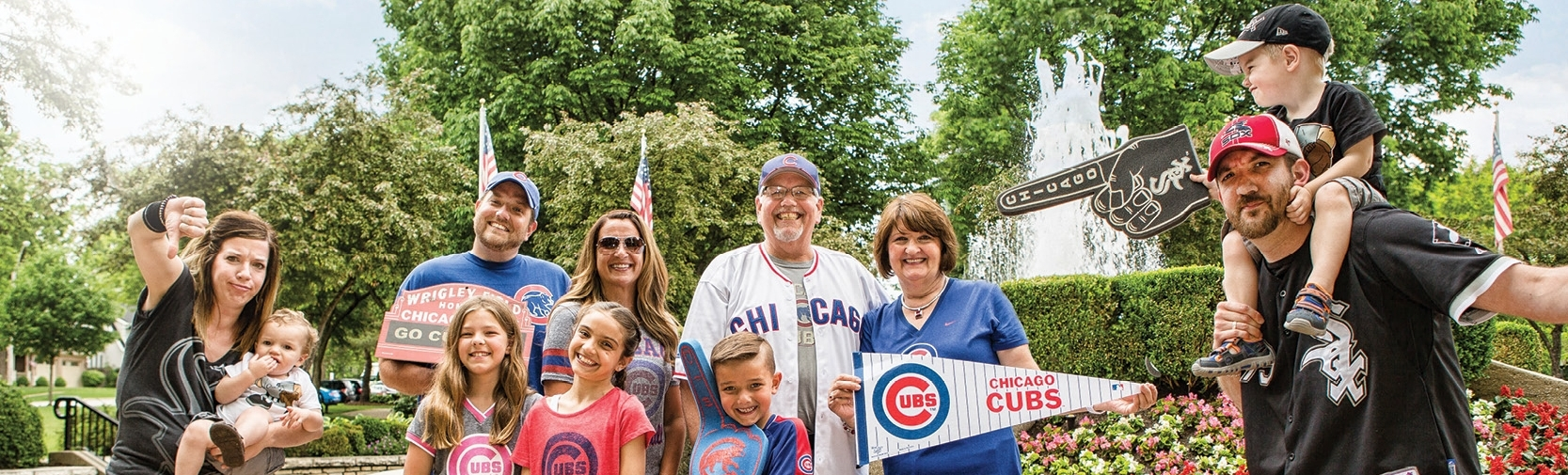 Meet Cubs and White Sox superfans: The Stienstra family