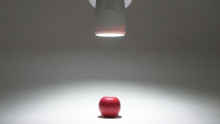 メインビジュアル : 光で伝える ―LEDによる新しい情報伝達技術