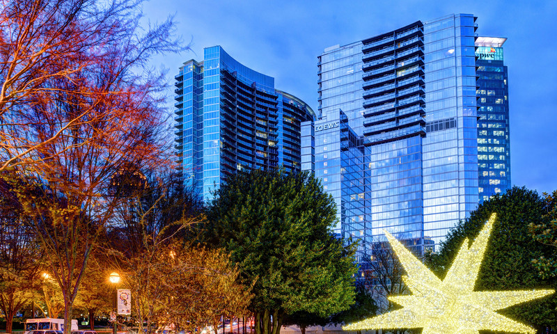It's beginning to look a lot like... well, you know. Atlanta's getting festive this holiday season. (📷 Gene Phillips, AtlantaPhotos.com)