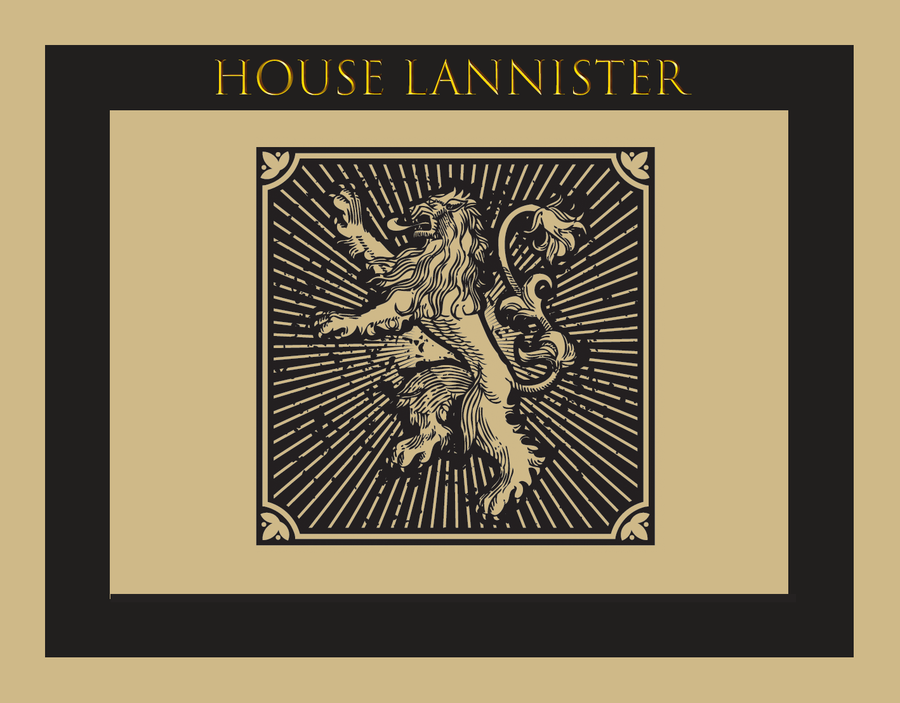 AT&T Entertainment Presents: House Lannister Week