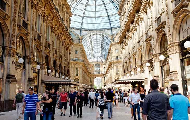 Galleria Vittorio Emanuele II shopping arcade