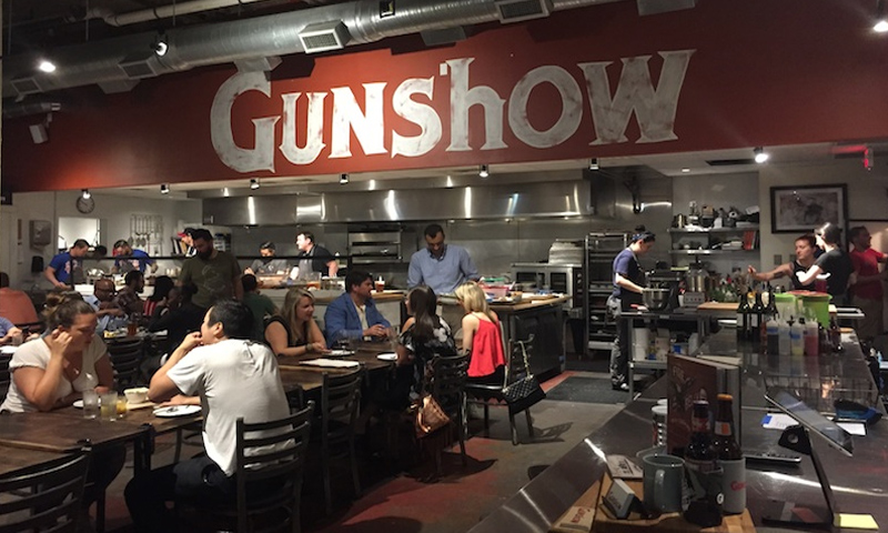 Gunshow's Kevin Gillespie is among the Atlanta-based finalists.
