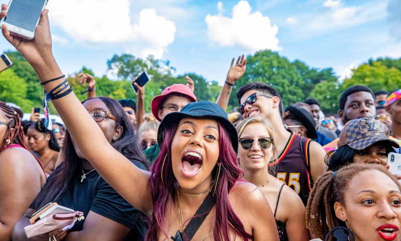 ONE Musicfest is in the heart of Atlanta at Centennial Olympic Park (📷 Anmarie Smith and Forrest Smith for DV Photo Video)