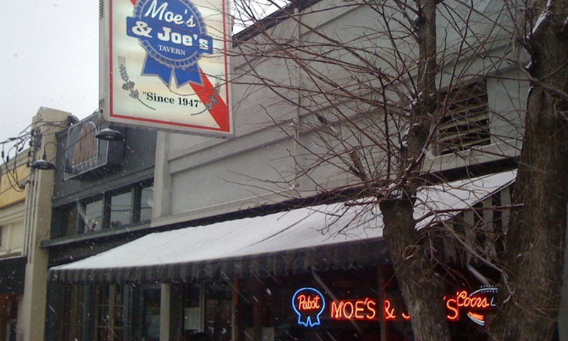 Moe's & Joe's has been around since 1947, and not much has changed – we hope it never does.