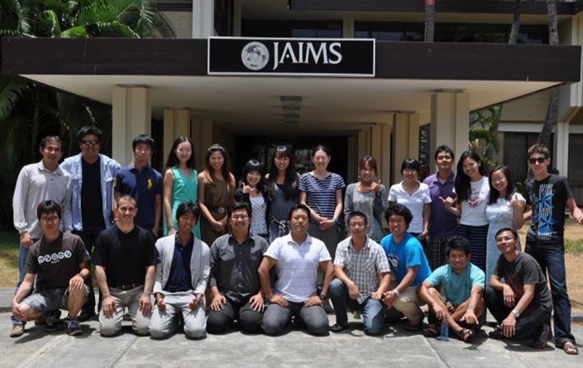 Main visual : Hannah joins the JAIMS Global Leaders Program