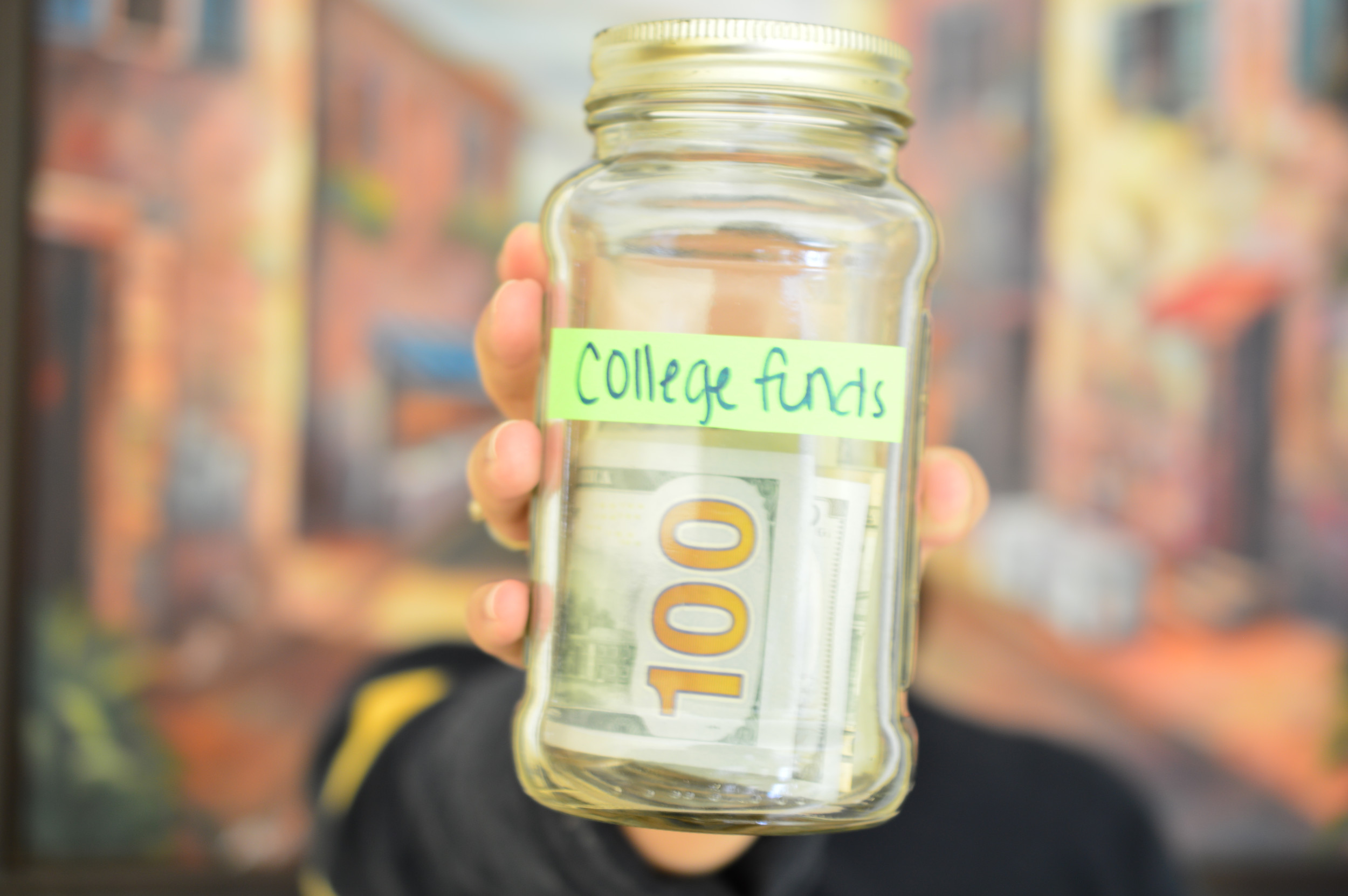 How to save for your kid's college and still live