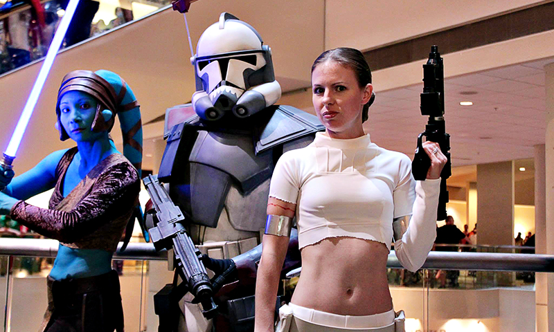 Gather the troops (clones or otherwise) and head Downtown for Dragon Con. (Lori Bair)