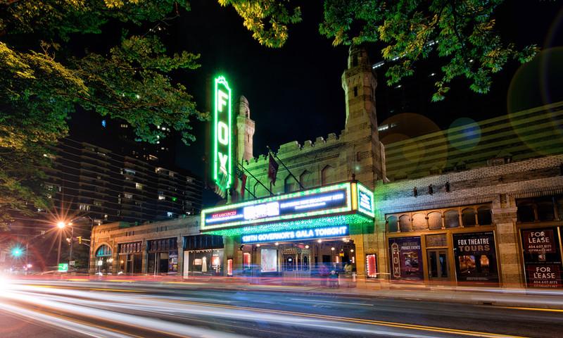 Midtown locales mean you're near the fabulous Fox, an Atlanta icon. (Gene Phillips, AtlantaPhotos.com)