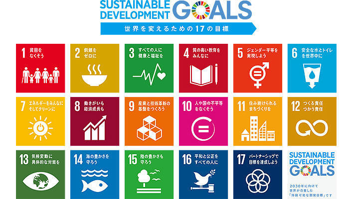 Main visual : Putting the UN's Sustainable Development Goals into Practice -
