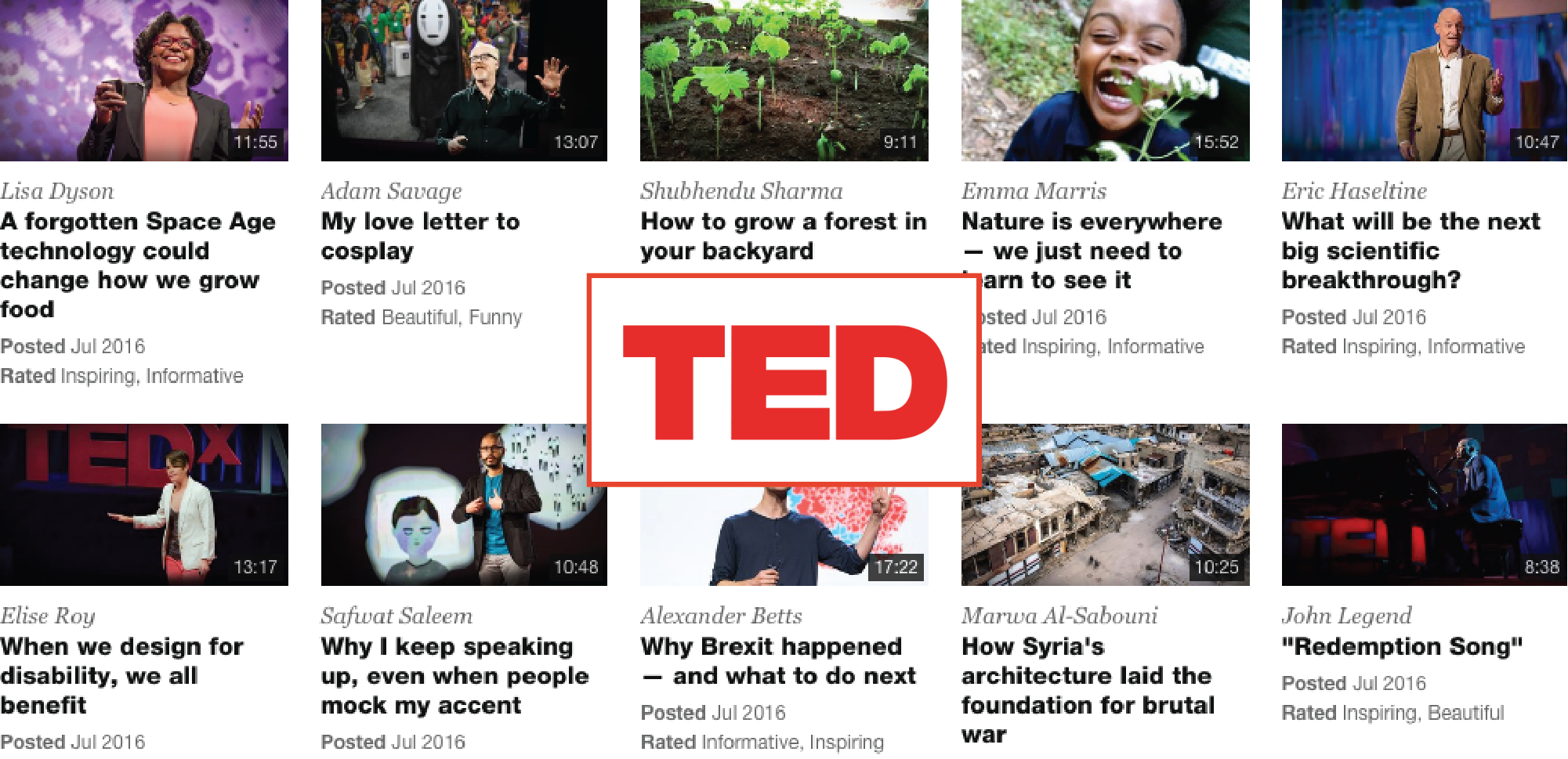 Ted Talks Brands as Publishers
