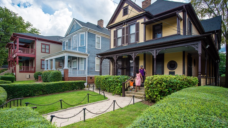 MLK Jr. Birth Home in Historic Old Fourth Ward