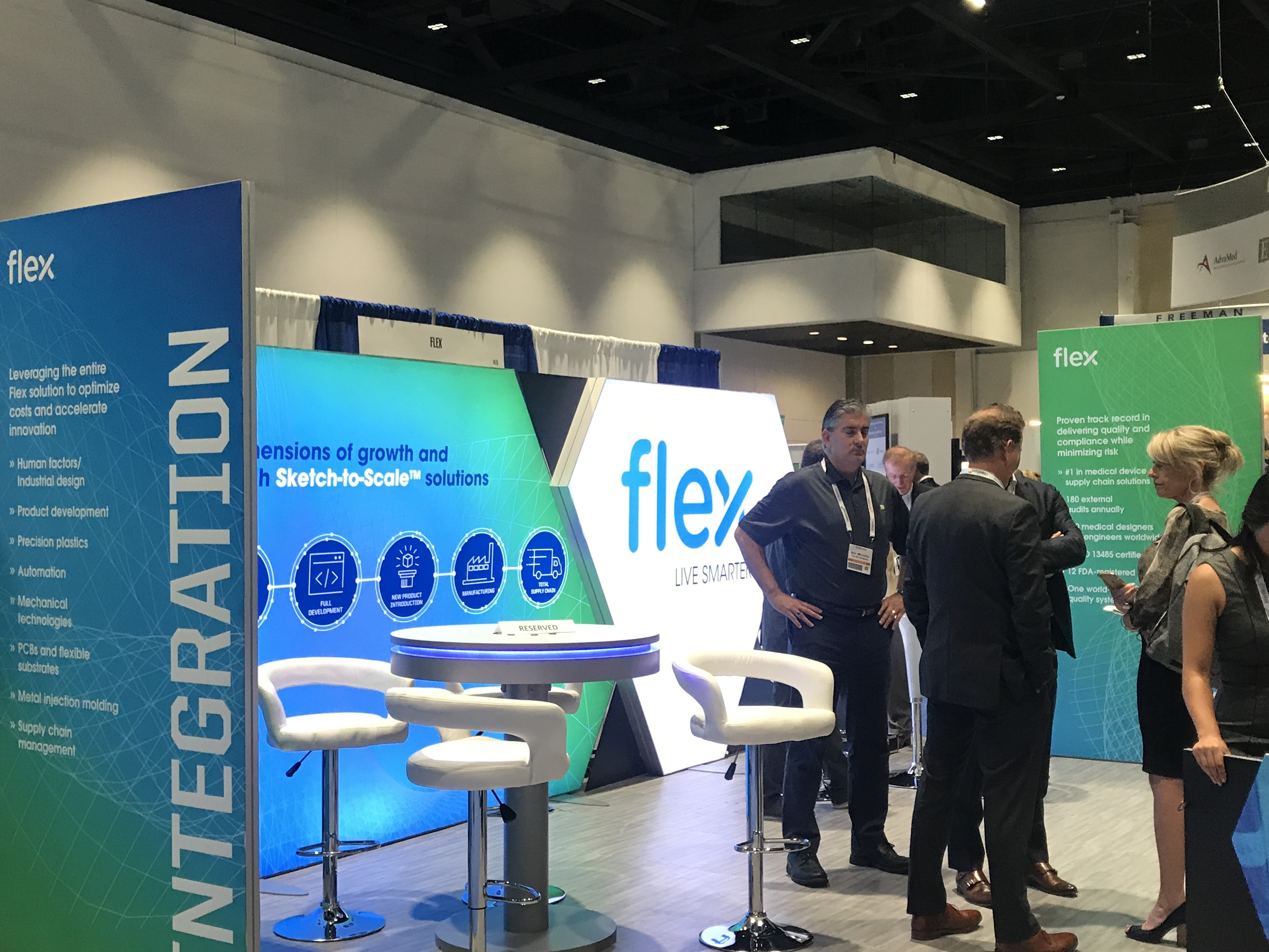 Flex's presence at MedTech Conference yields opportunities for manufacturing and medical company collaboration.