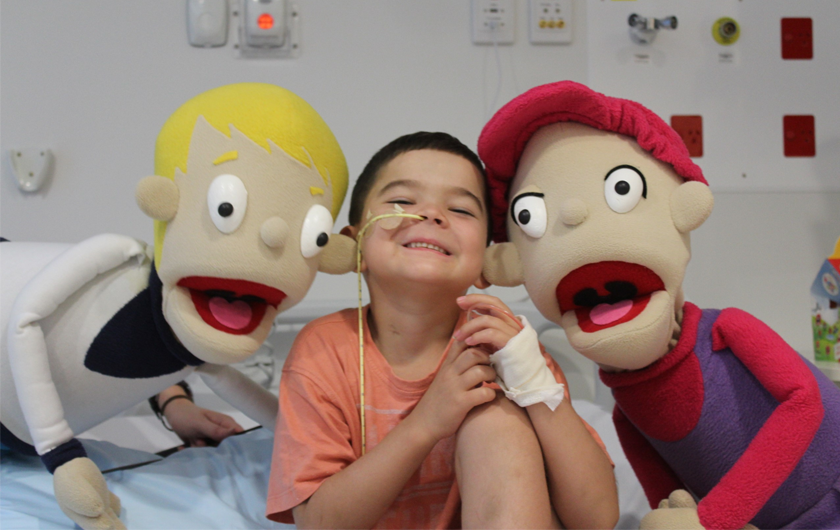 Main visual : Fujitsu helping Camp Quality to change the cancer story for kids and their families