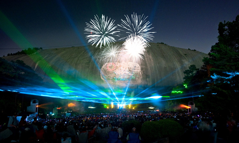 Stone Mountain pulls out all the stops for Labor Day Weekend.