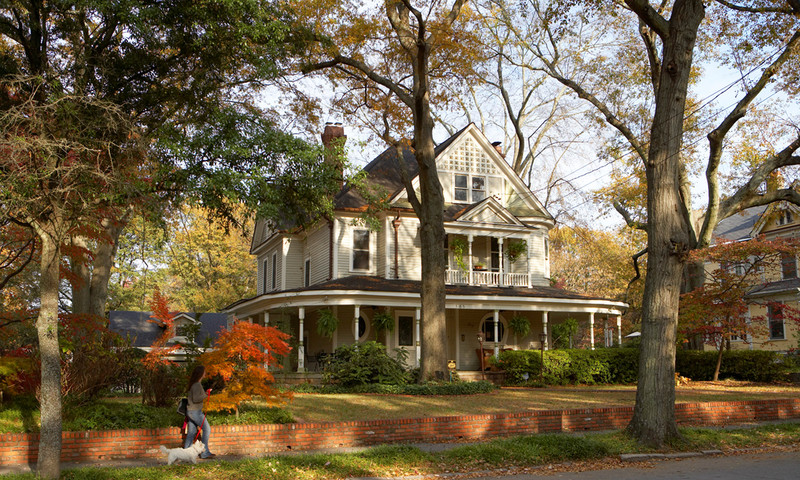 Inman Park is a beautiful neighborhood full of hidden gems. (photo Kevin Rose, AtlantaPhotos.com)