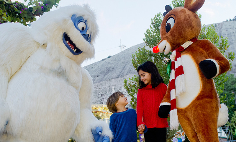 There's always a lot to see and do at Stone Mountain Christmas.