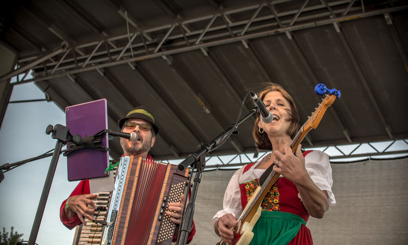 Oktoberfest Atlanta brings the German spirt to the Old Fourth Ward Park with German beer, music and food.