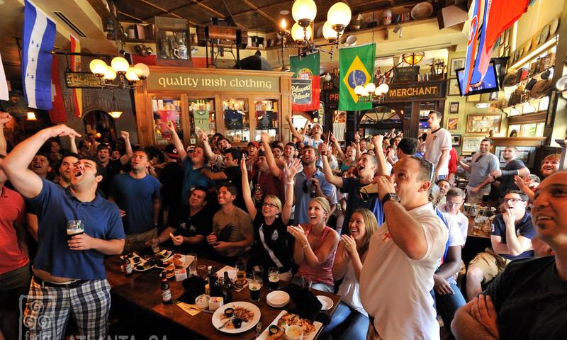 Folks have fun at Fado's Irish Pub. (image courtesy of Fado's Irish Pub)
