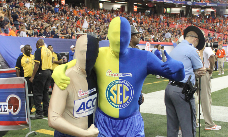 What happens at the Chick-fil-A Kickoff Game stays at the Chick-fil-A Kickoff Game.