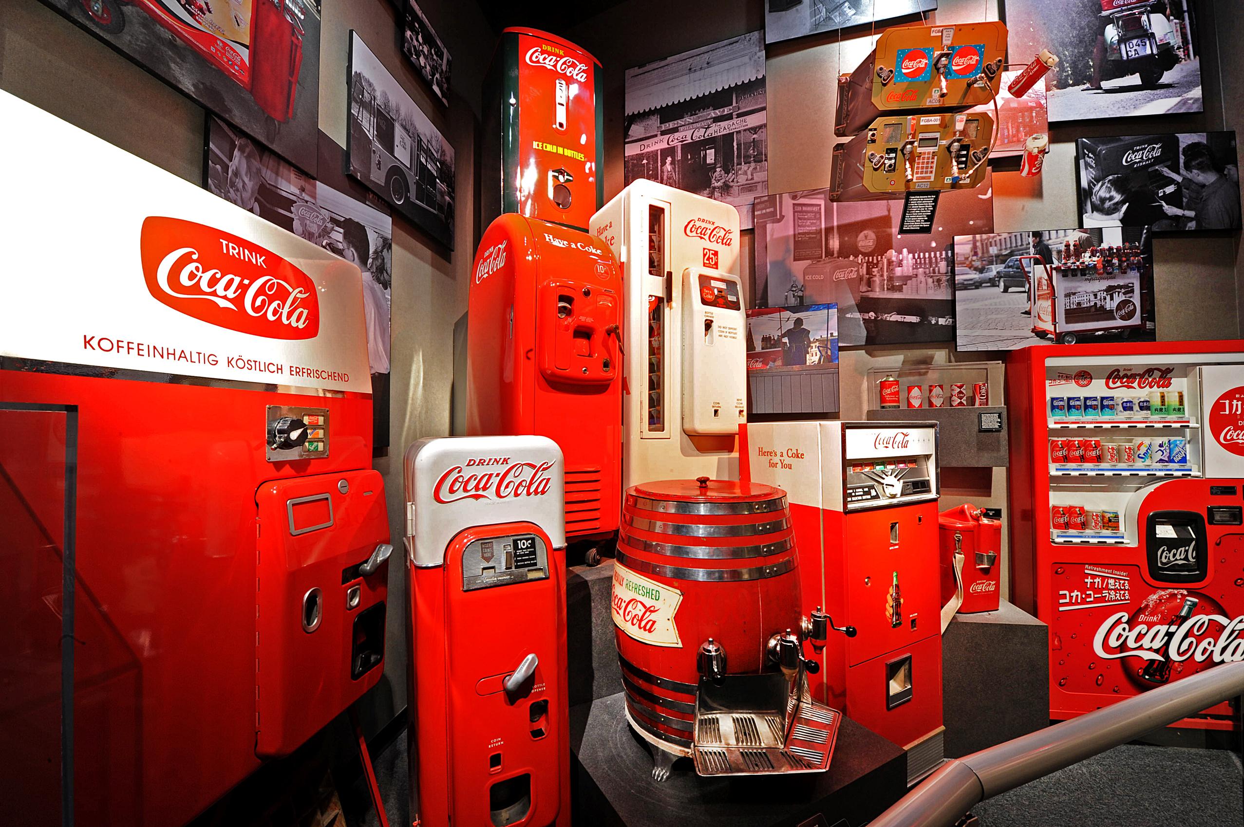World of Coca-Cola Coke Machines