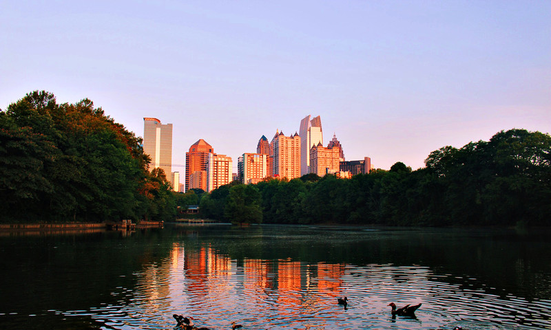 Ready for a run? Scenic trails await in and around Atlanta. (photo Benjamin Pete)