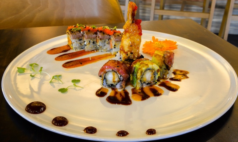 There's something for everyone at Eight Sushi.