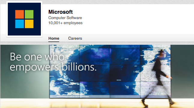 Microsoft LinkedIn Content distribution