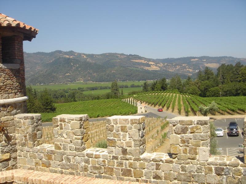 CALISTOGA-Castello di Amorosa-view from-c2008 Carole Terwilliger Meyers.JPG